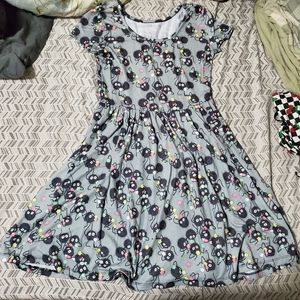 Spirited Away soot Sprite skater dress
